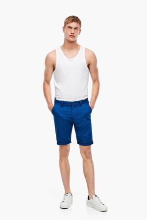 regular fit bermuda blauw