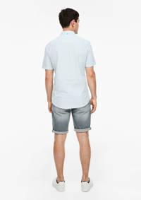 Q/S designed by regular fit overhemd lichtblauw, Lichtblauw