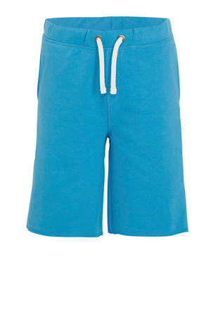 regular fit sweatshort blauw