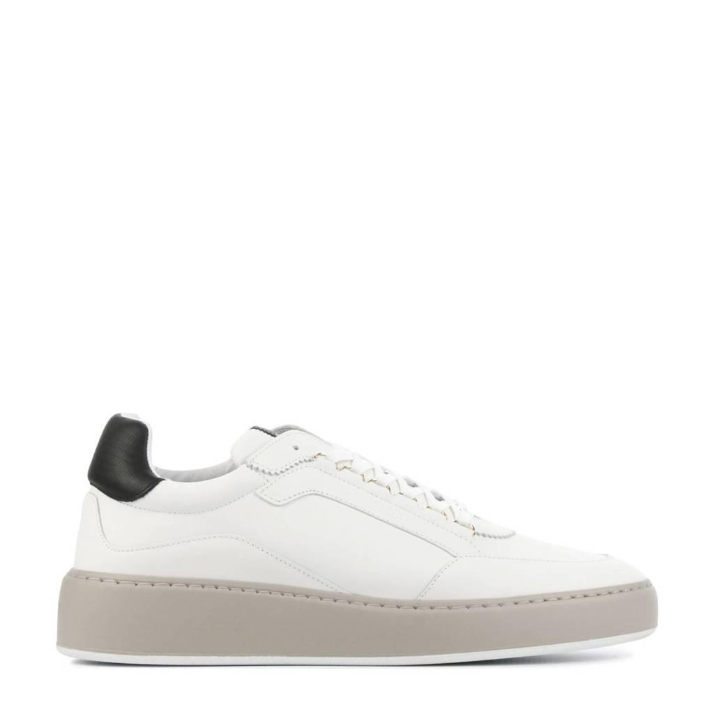 Nubikk Jiro Jade Classic  leren sneakers wit, Wit