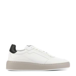 Jiro Jade Classic  leren sneakers wit