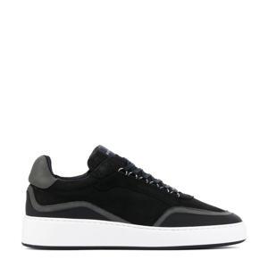 Jiro Jones  nubuck sneakers zwart
