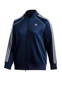 adidas Originals Plus Size vest donkerblauw, Donkerblauw