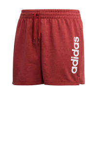 adidas Performance Plus Size sportshort rood, Rood
