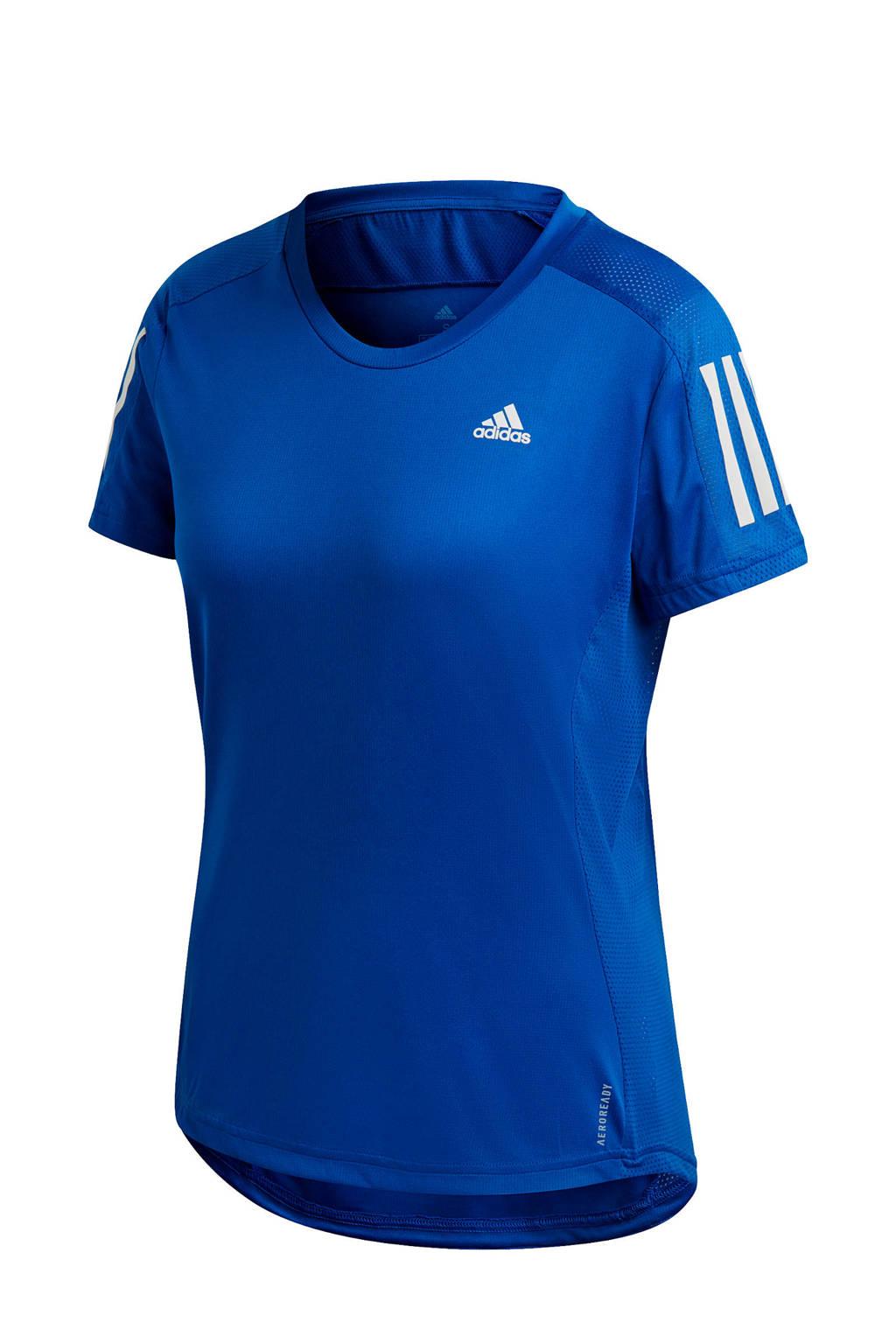 adidas Performance hardloopshirt blauw, Blauw, Dames