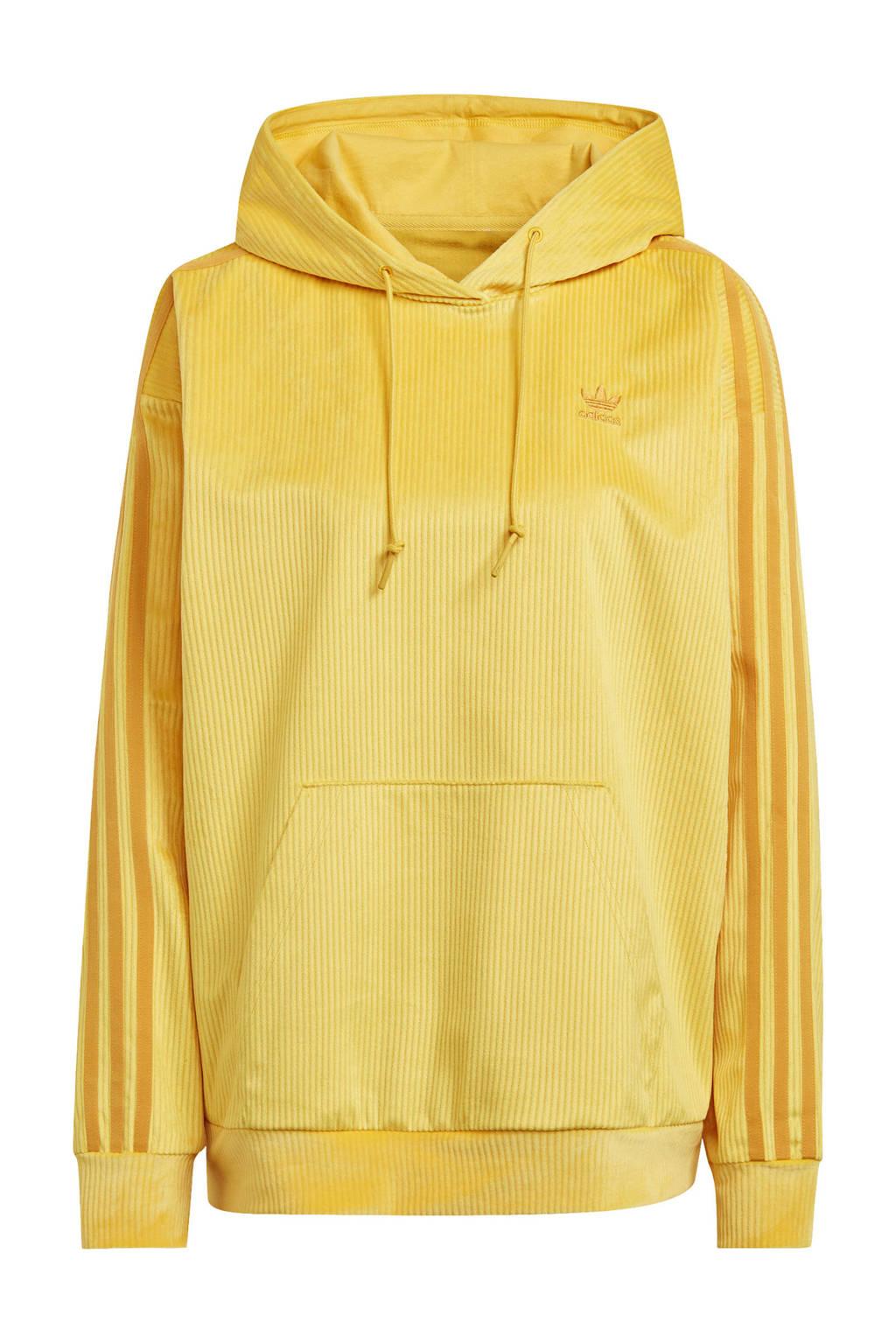 adidas Originals Corduroy hoodie geel, Geel