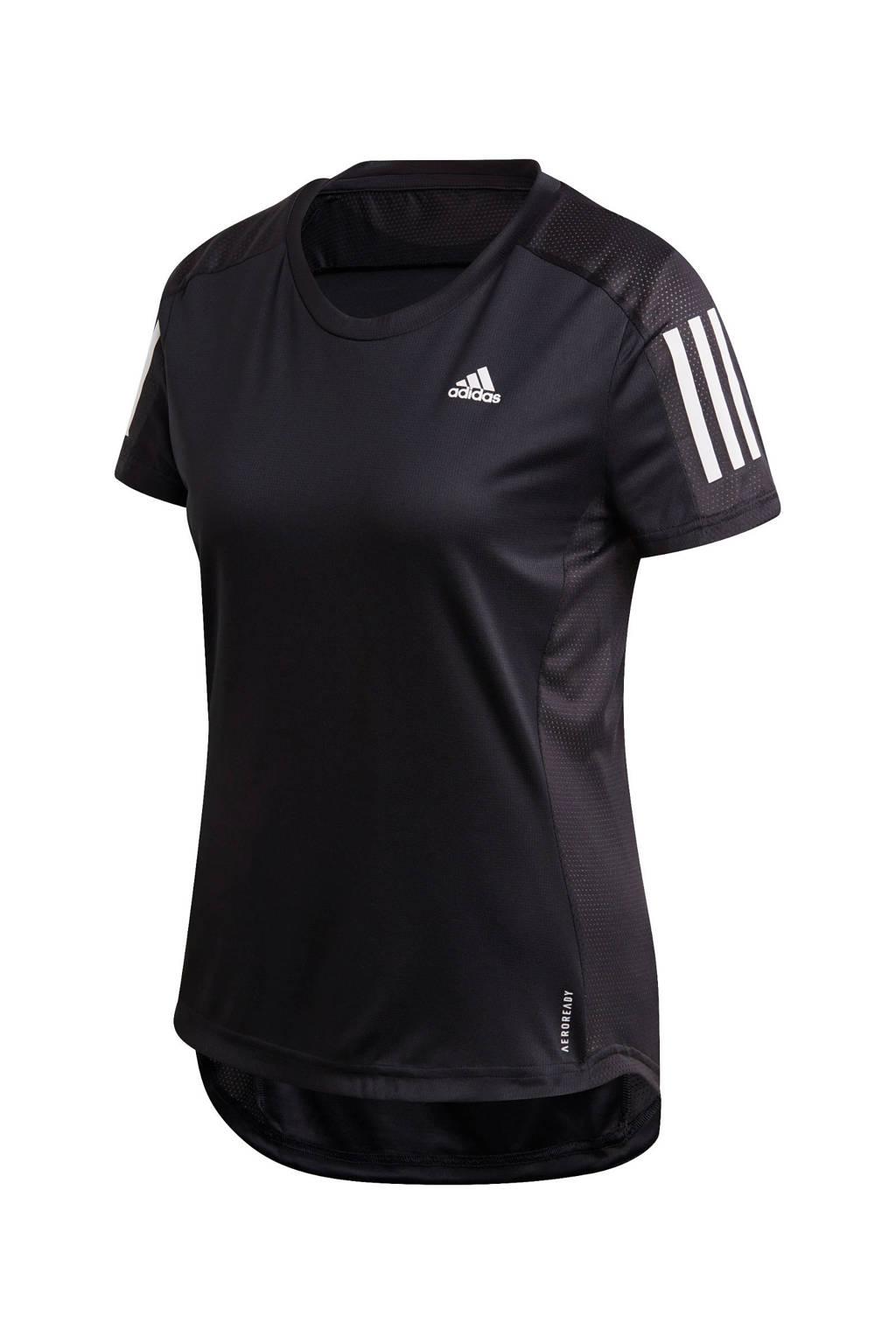adidas Performance hardloopshirt zwart, Zwart
