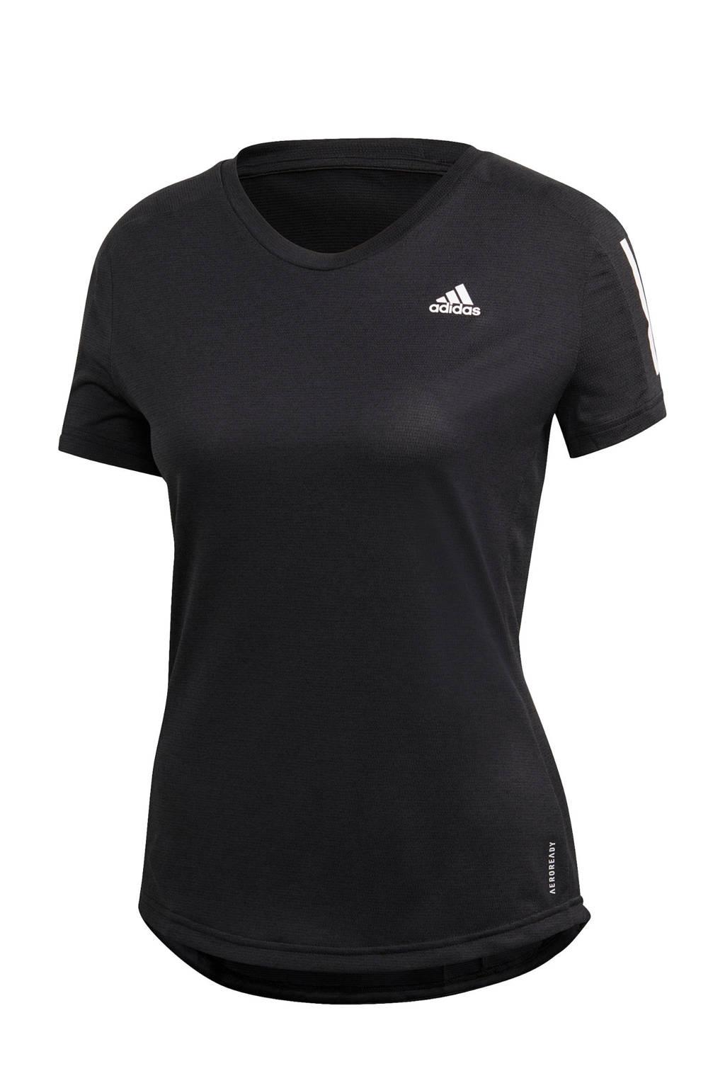 adidas Performance hardloopshirt zwart, Zwart, Dames