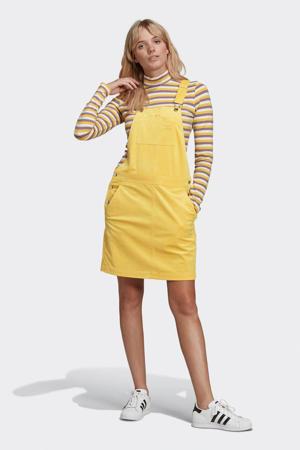 Corduroy overgooier geel