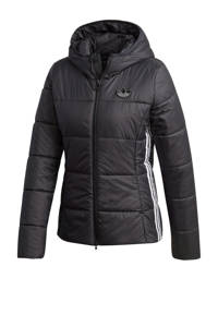 adidas Originals gewatteerde jas zwart, Zwart