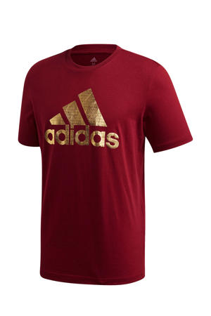 sport T-shirt bordeaux