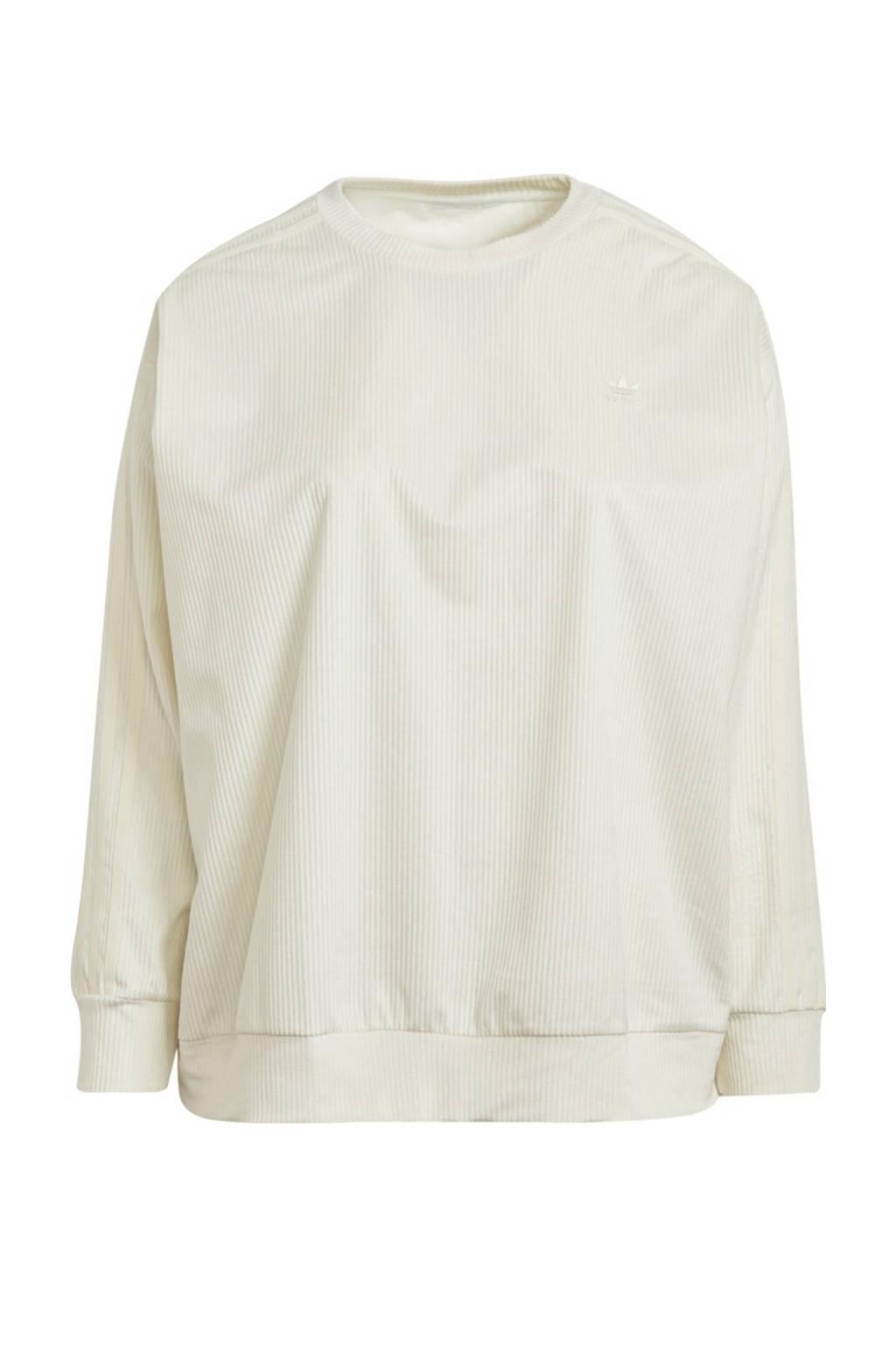 adidas Originals Plus Size Corduroy sweater crème, Crème
