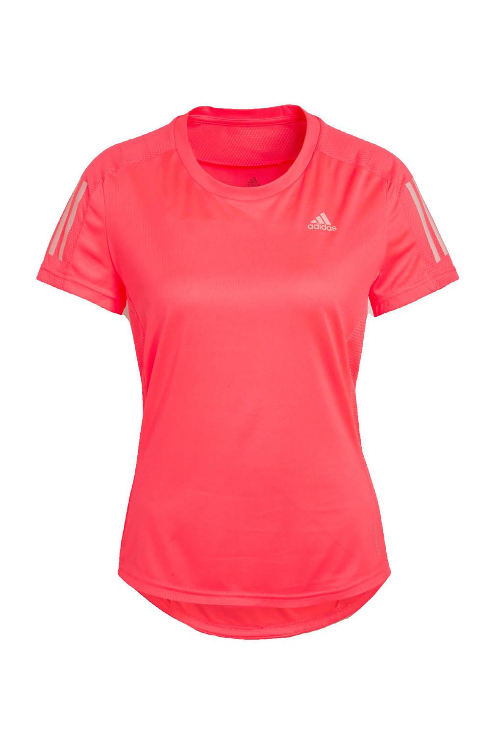 adidas Performance hardloopshirt neon roze, Neon roze, Dames