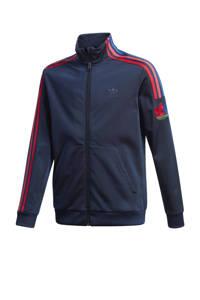 adidas Originals vest donkerblauw/rood, Donkerblauw/rood