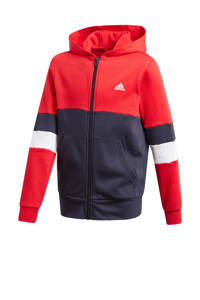 adidas Performance   sportvest donkerblauw/rood, Donkerblauw/rood