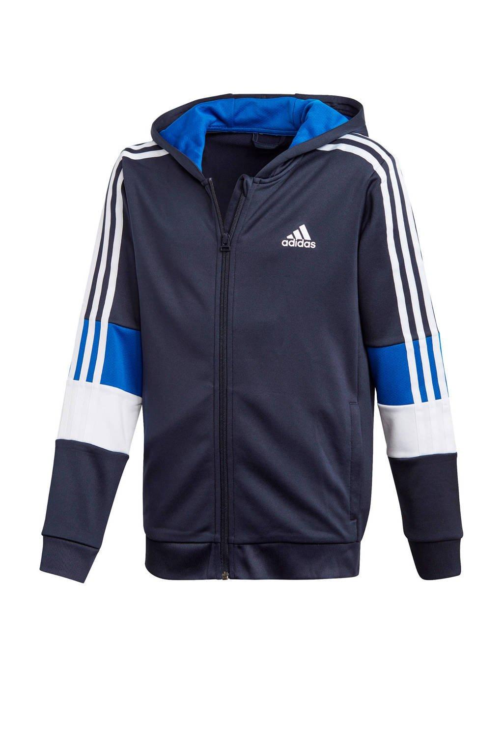 adidas Performance   sportvest blauw, Blauw