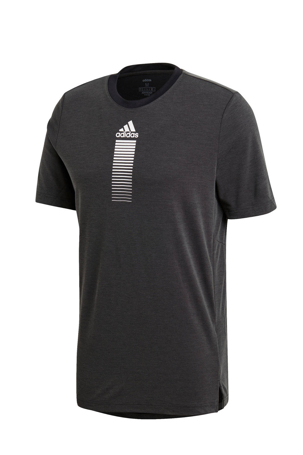 adidas Performance   sport T-shirt donkergrijs, Donkergrijs