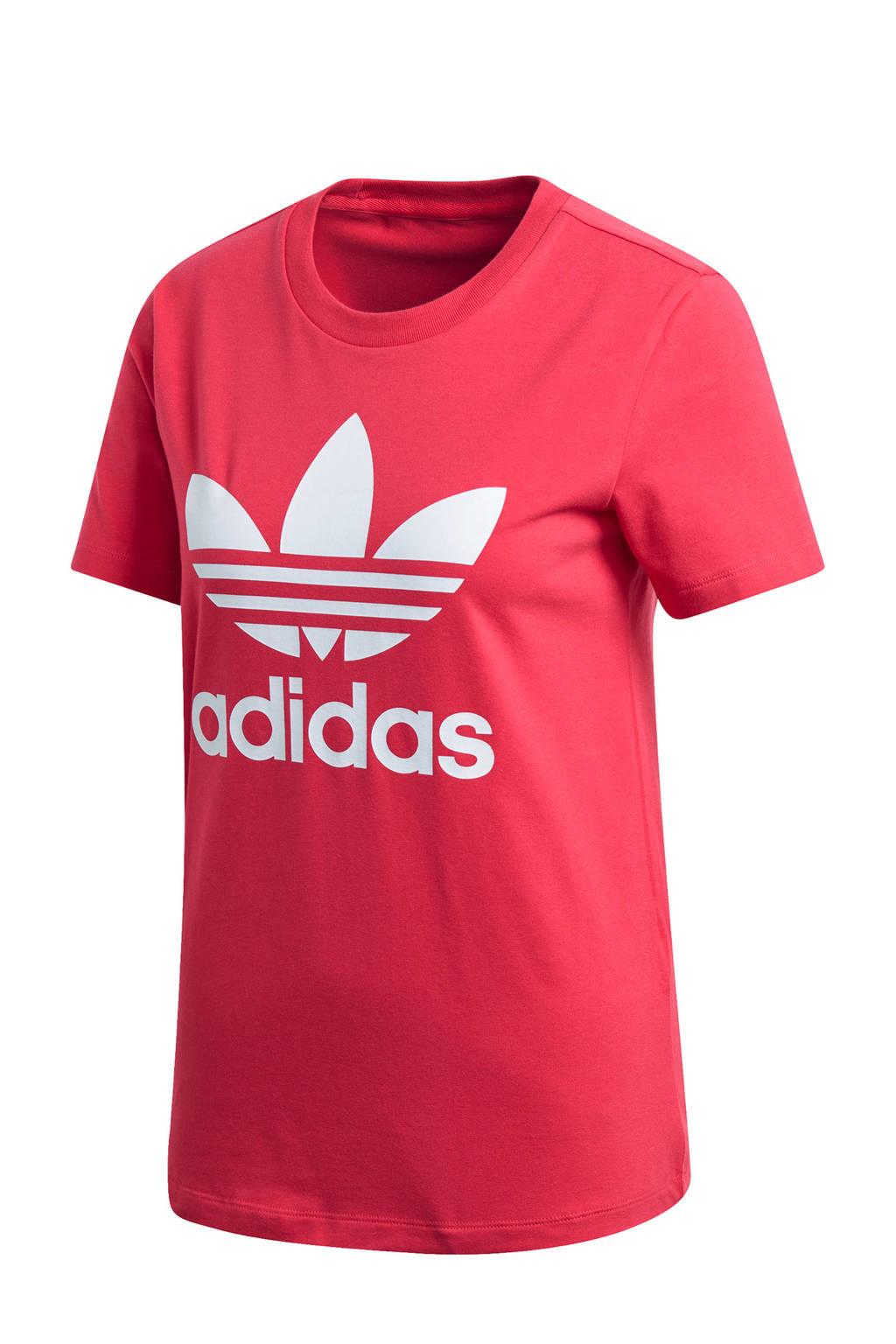 adidas Originals Adicolor T-shirt rood, Rood