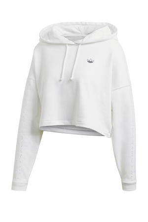 cropped hoodie wit