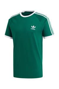 adidas Originals T-shirt groen/wit, Groen/wit