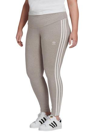Plus Size legging grijs melange