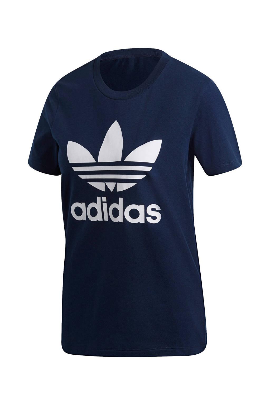 adidas Originals T-shirt donkerblauw, Donkerblauw