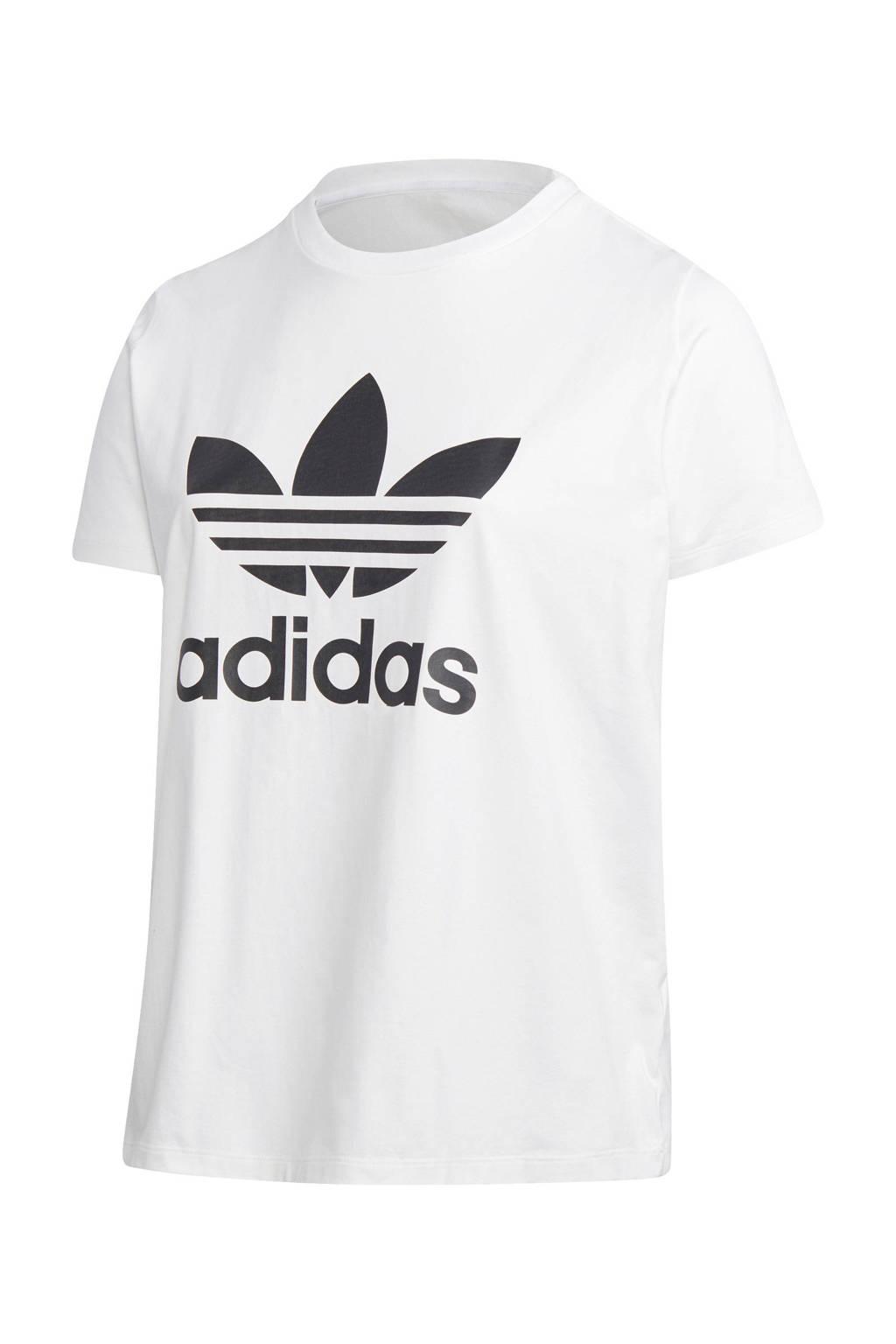 adidas Originals T-shirt wit, Wit