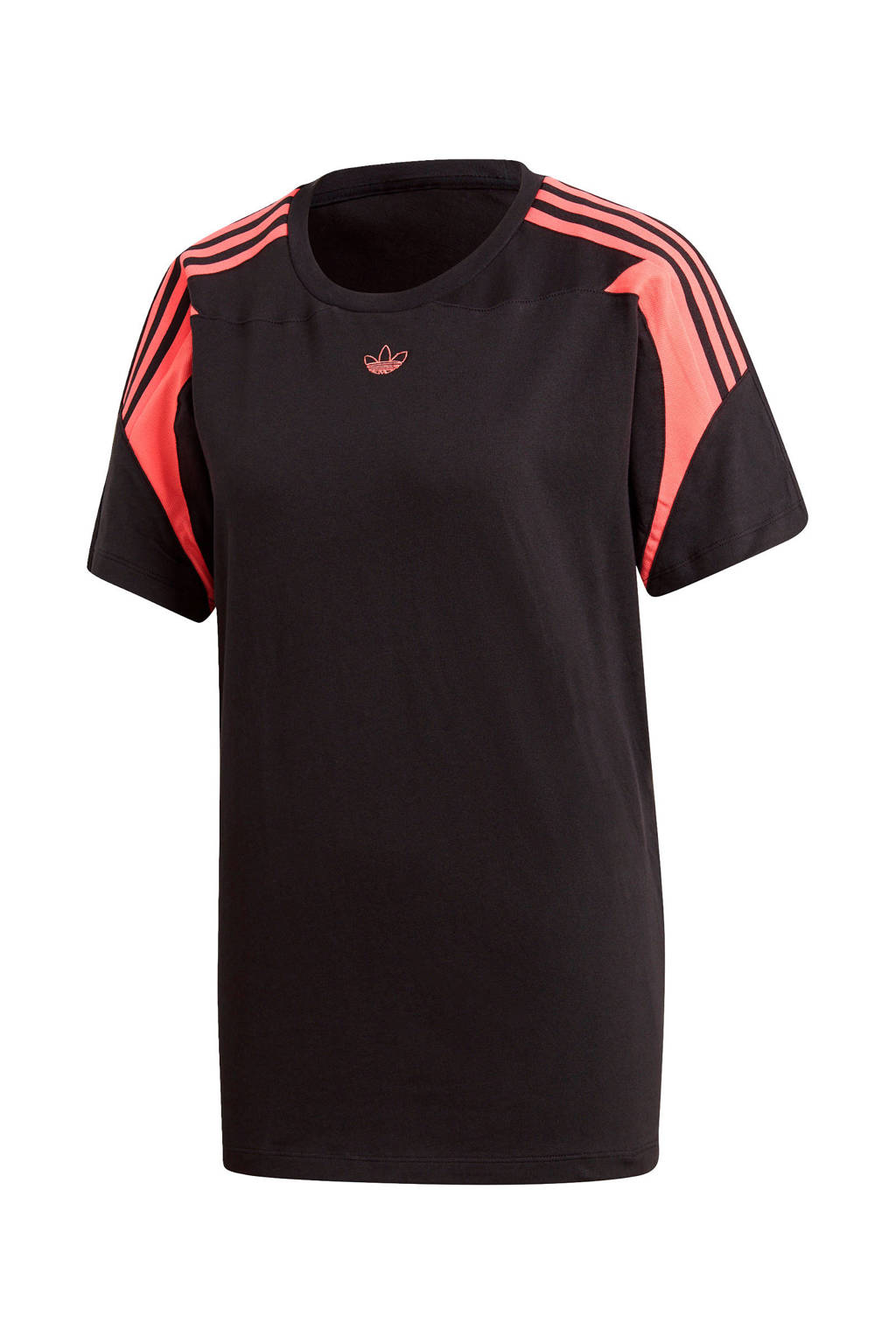 adidas Originals Adicolor T-shirt zwart/wit, Zwart/wit