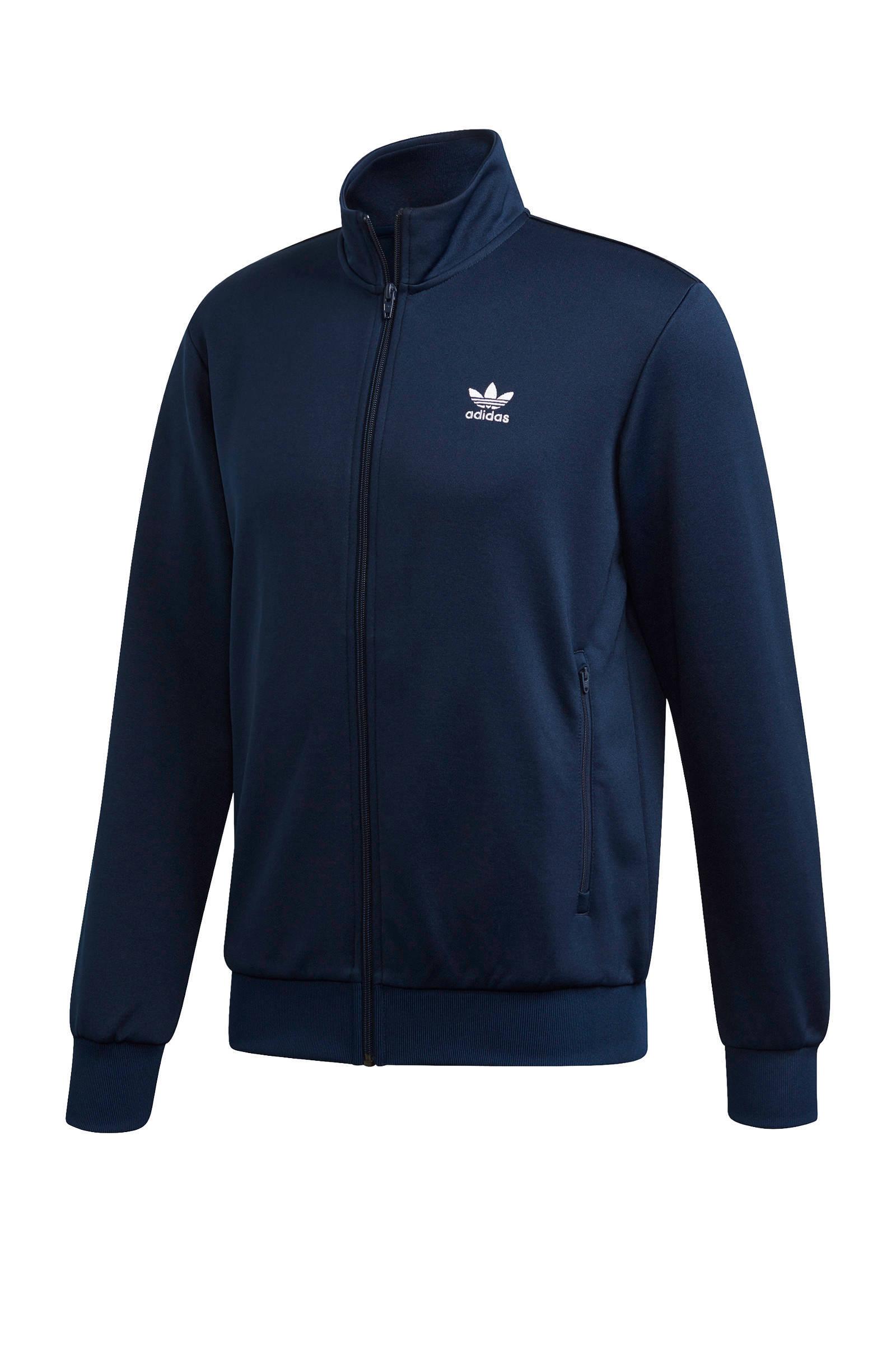 adidas Originals vest lichtblauw | wehkamp