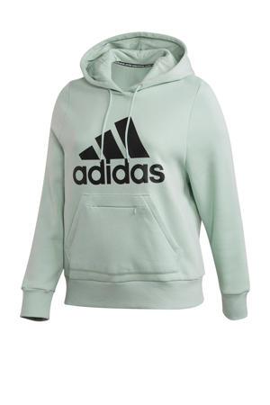 Plus Size sportsweater mintgroen