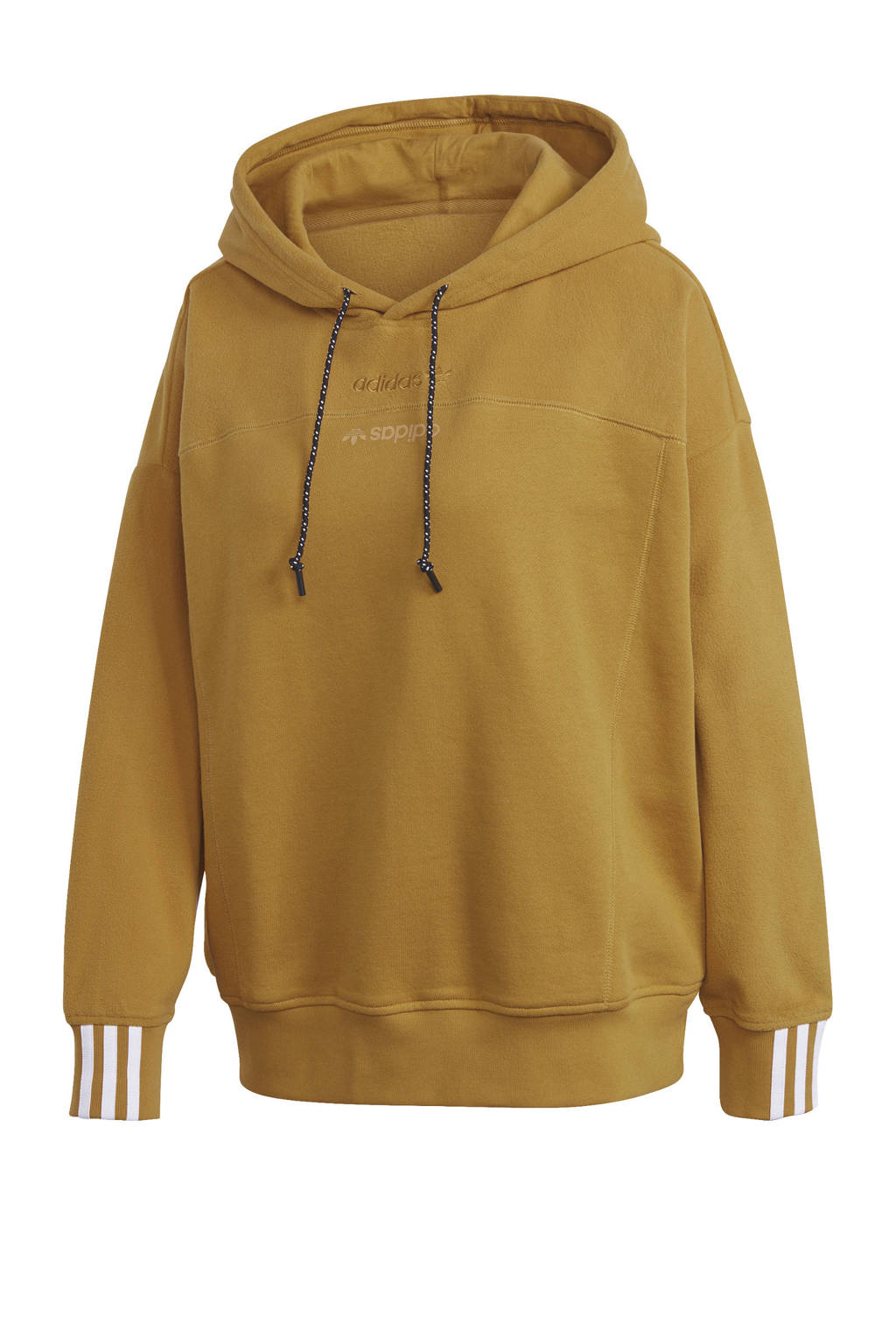 adidas Originals hoodie bruin, Bruin