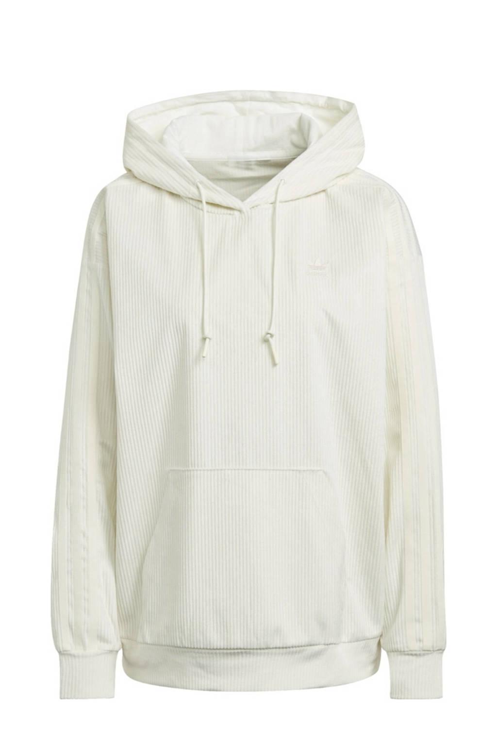 adidas Originals Corduroy hoodie crème, Crème
