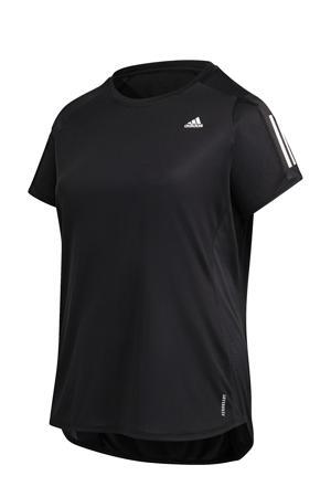 hardloopshirt zwart