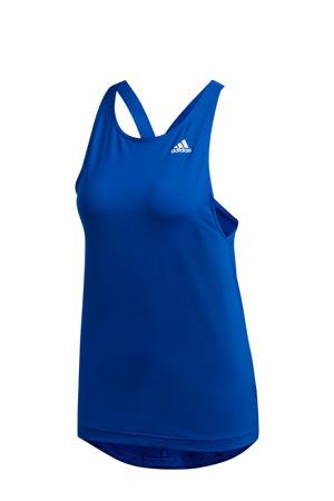 sporttop blauw
