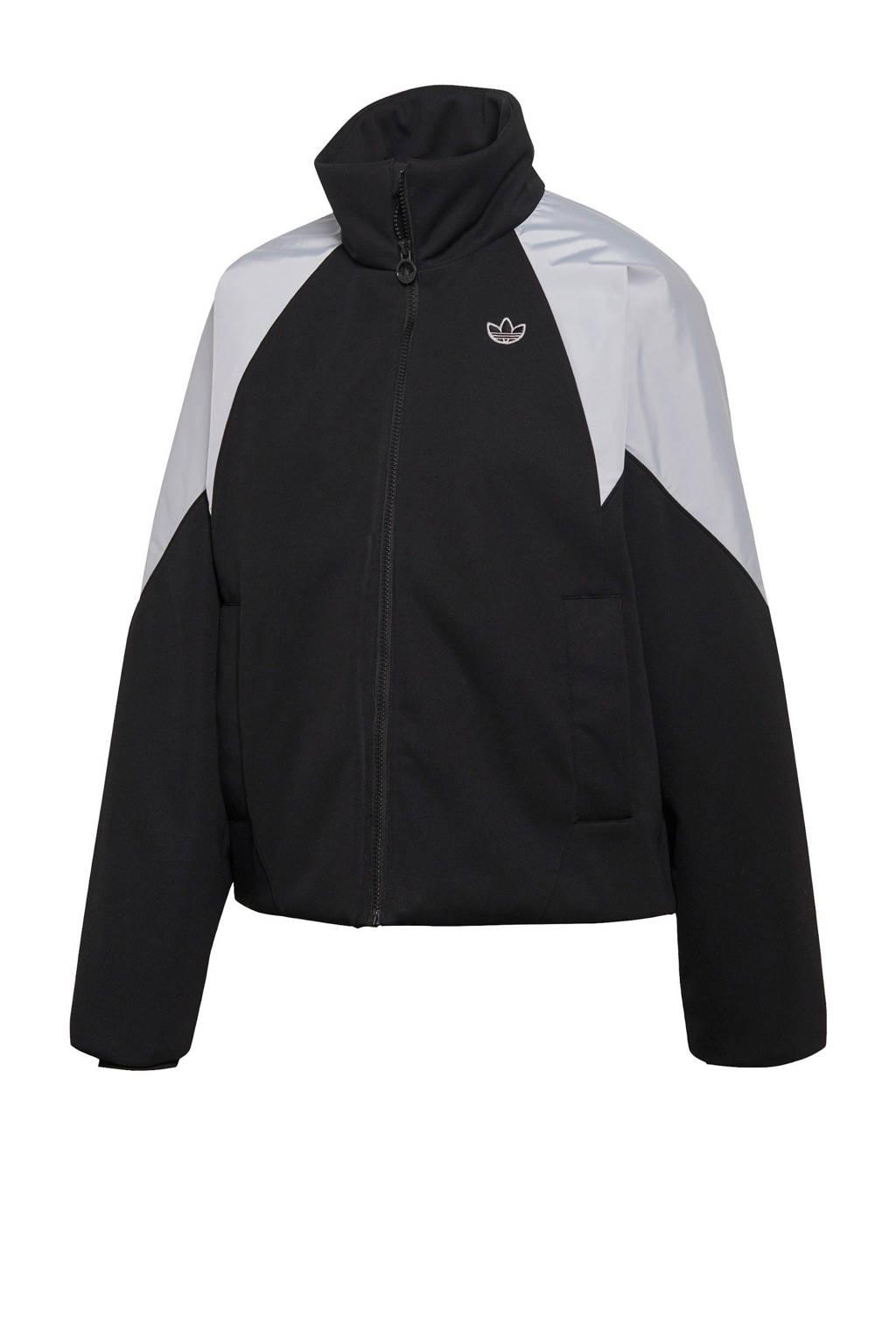adidas Originals jack zwart/lichtgrijs, Zwart/lichtgrijs