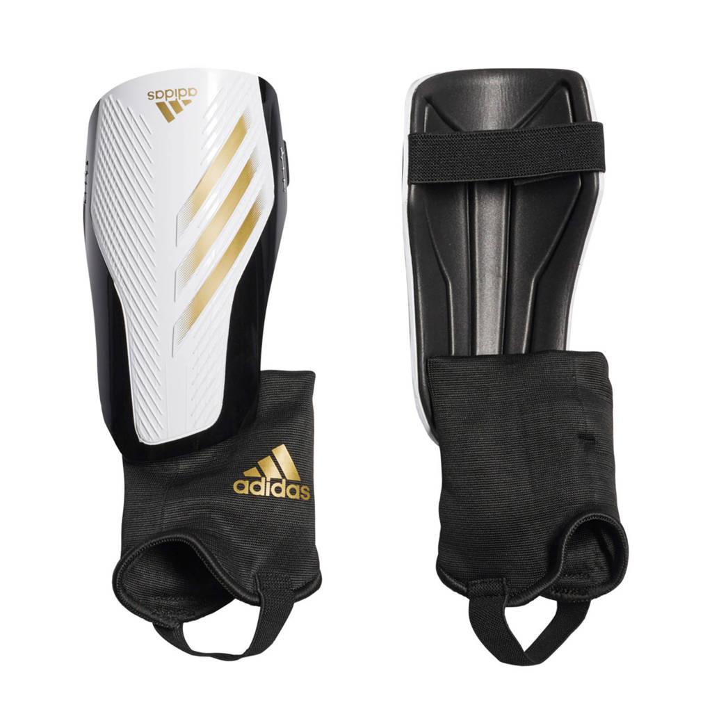 adidas Performance   Sr. scheenbeschermers X SG MC wit/goud/zwart, Wit/goud/zwart