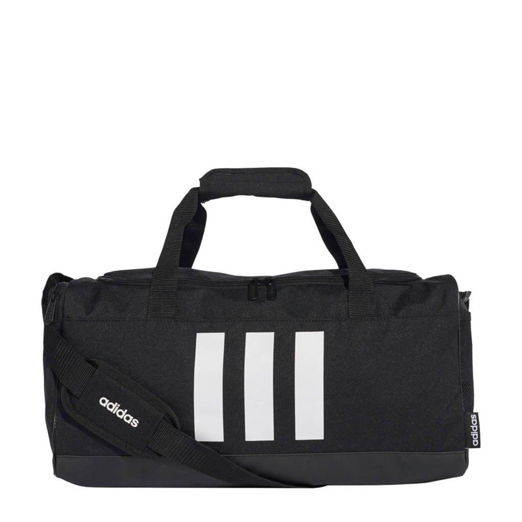 adidas Performance   sporttas CVRT 3S DUF S zwart/wit, Zwart/wit