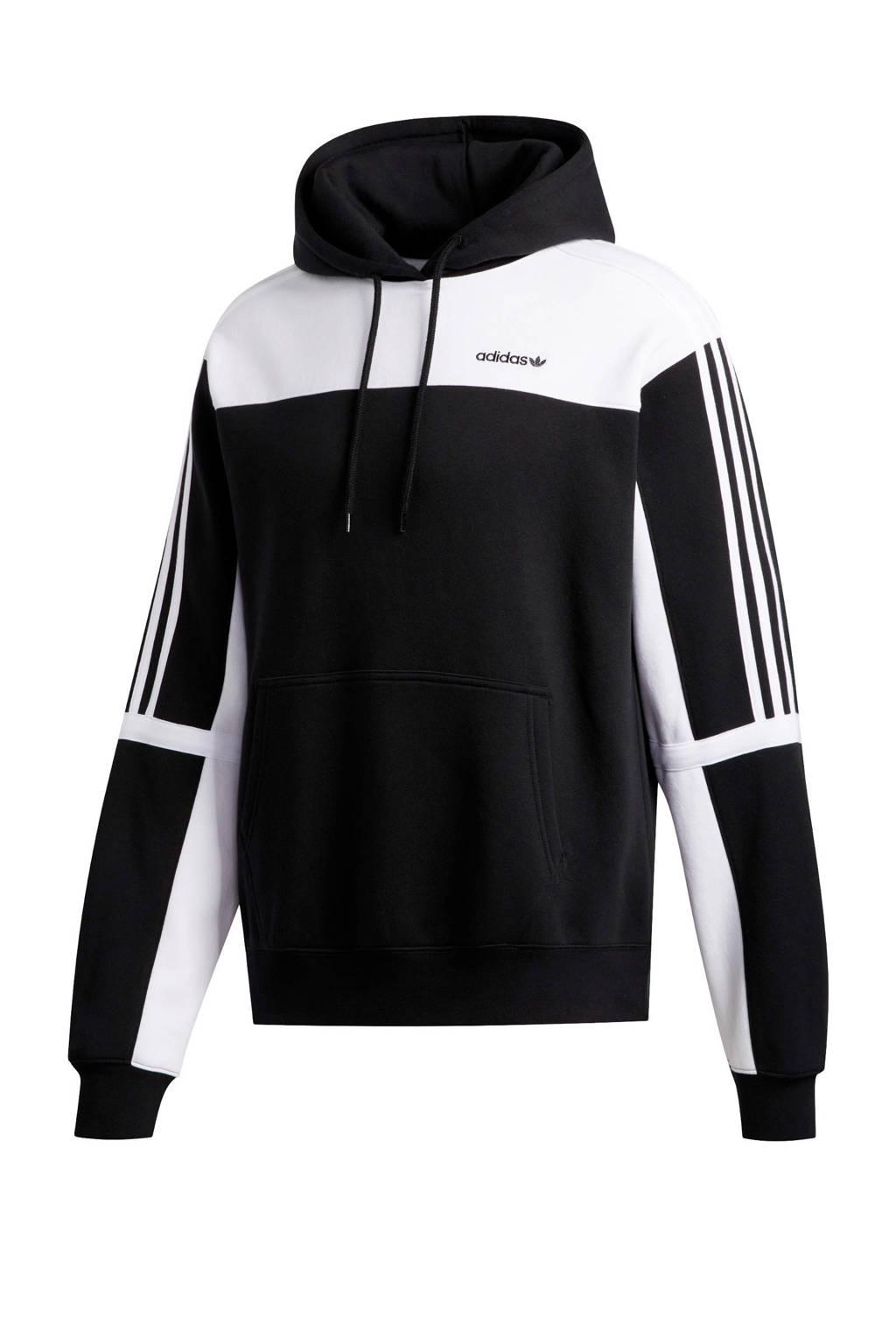 adidas Originals sweater zwart/wit, Zwart/wit