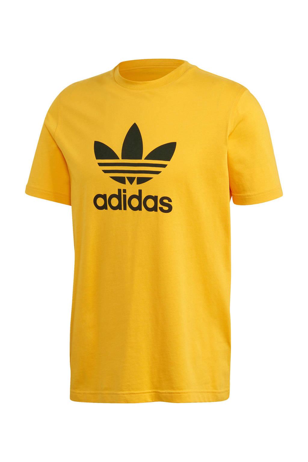 adidas Originals Adicolor T-shirt geel, Geel
