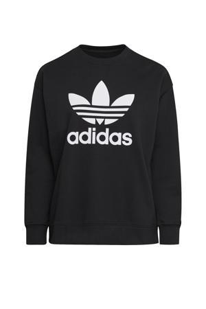 Adicolor sweater zwart