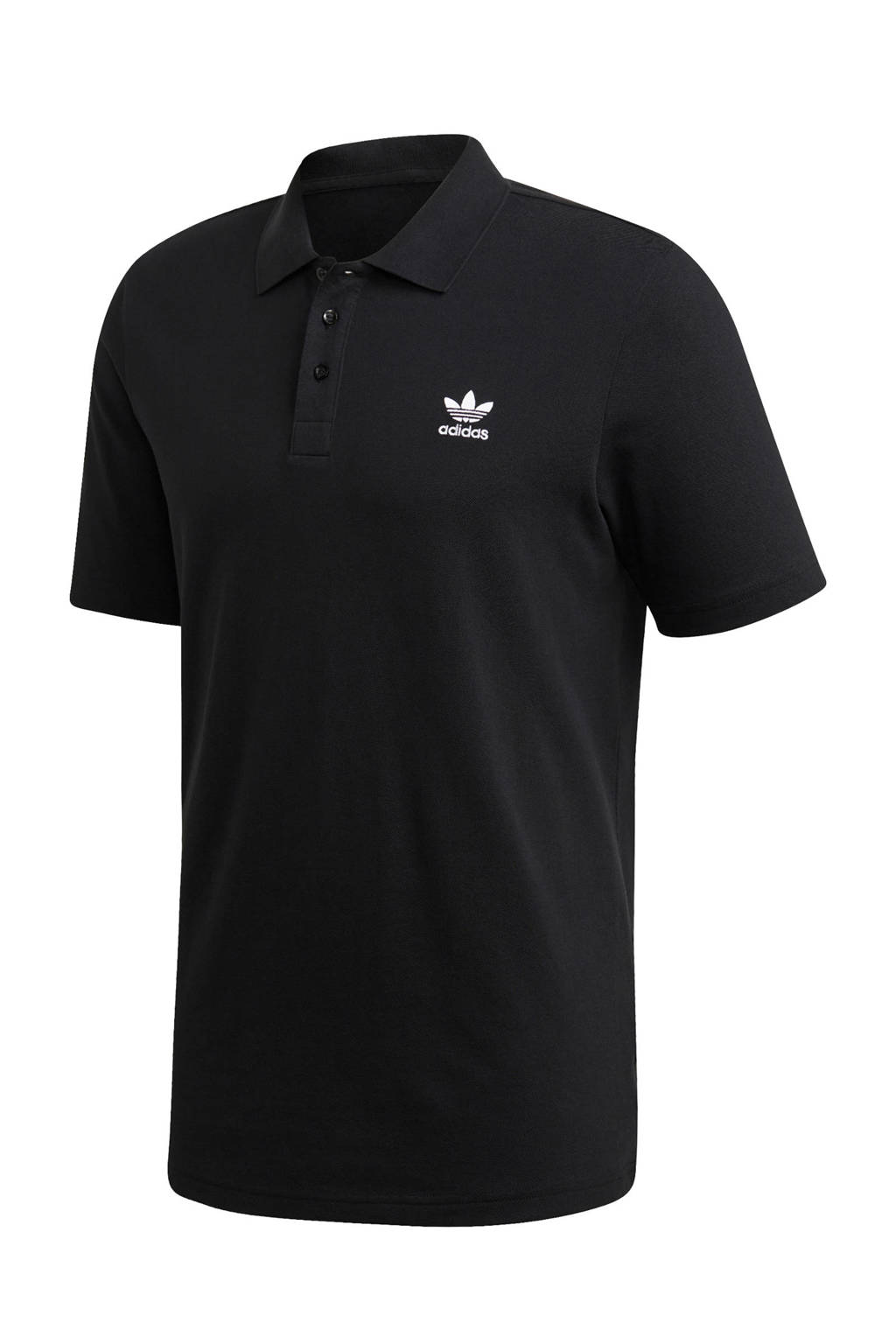 adidas Originals polo zwart, Zwart
