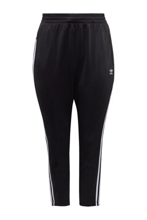 Plus Size joggingbroek zwart/wit