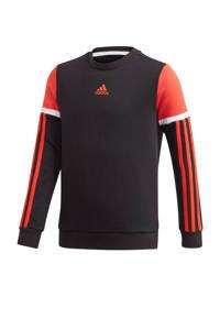 adidas Performance   sportsweater zwart/rood, Zwart/rood
