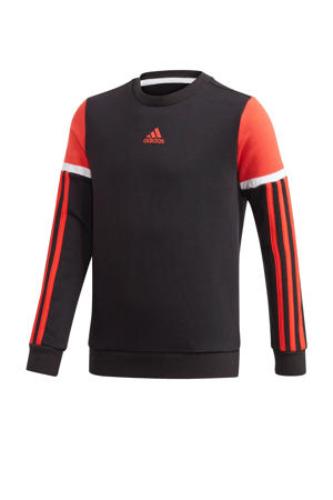 sportsweater zwart/rood