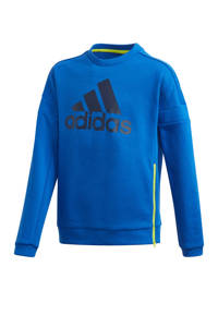 adidas Performance   sportsweater blauw/donkerblauw, Blauw/donkerblauw
