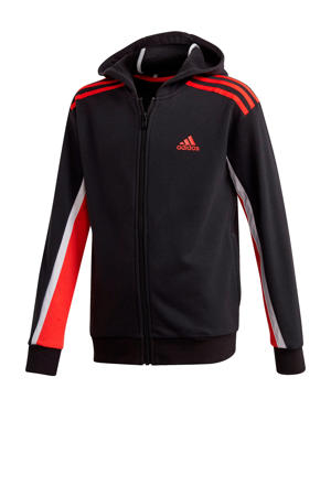 sportvest zwart/rood