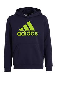 adidas Performance   sport hoodie donkerblauw, Donkerblauw