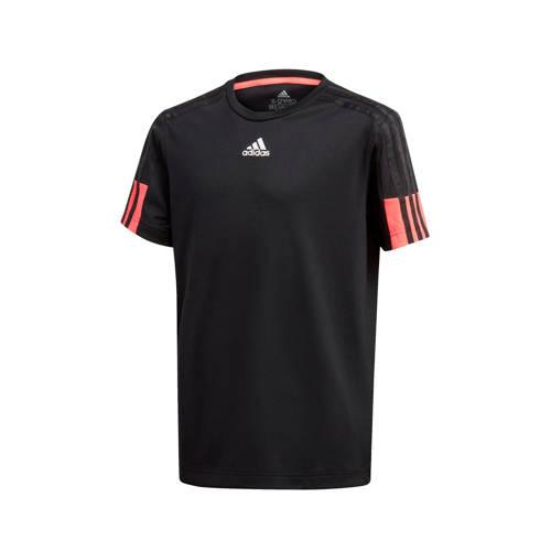 adidas Performance sport T-shirt zwart/rood