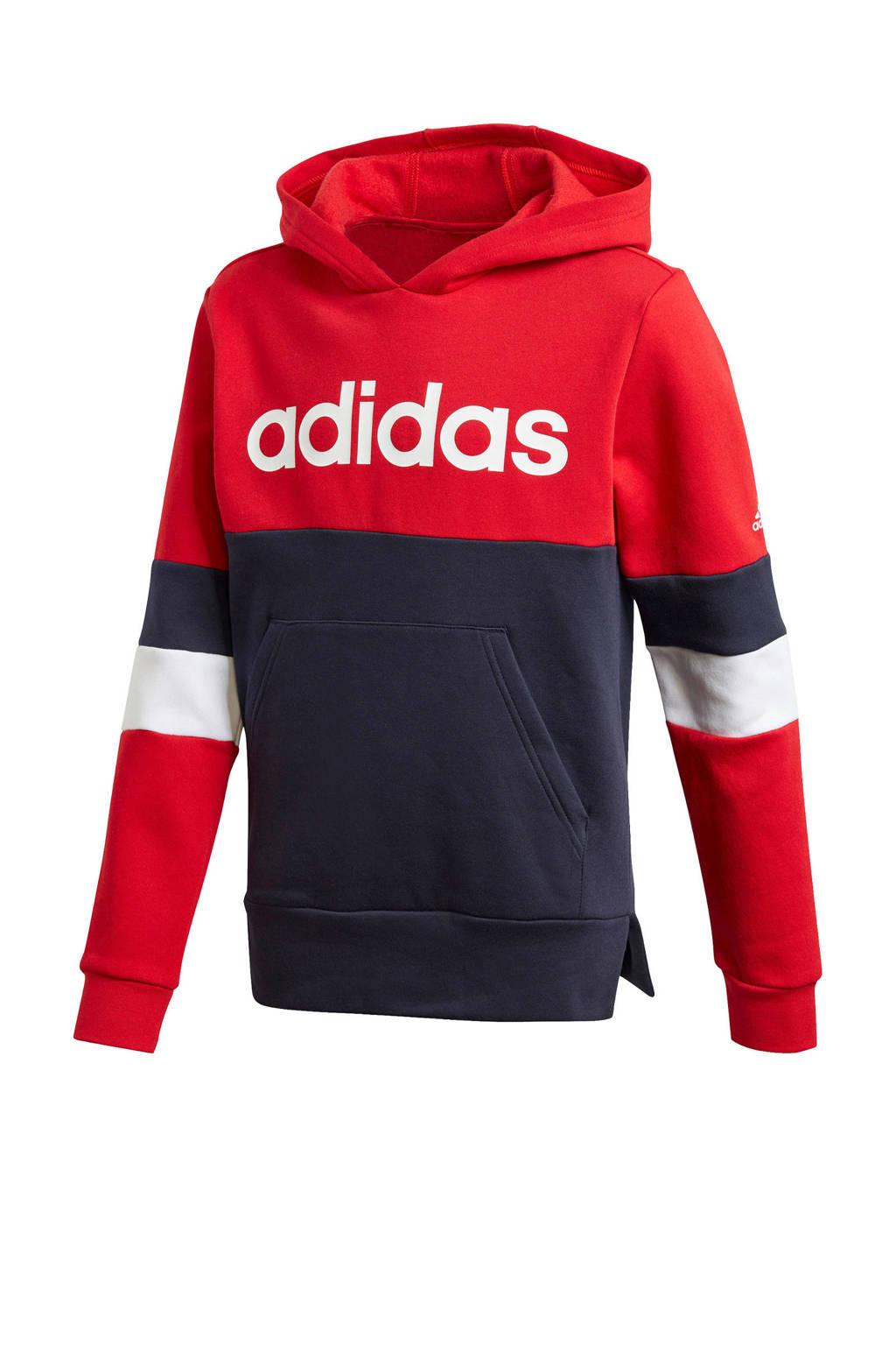adidas Performance   sportsweater donkerblauw/rood, Donkerblauw/rood