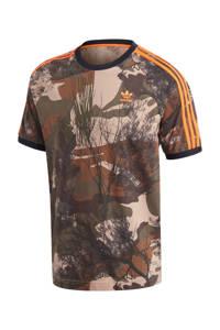 adidas Originals T-shirt bruin, Bruin